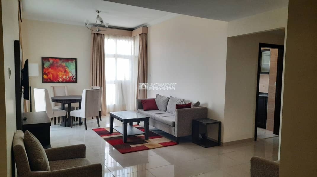 Fully Furnished || High Floor || Fabulous 1 BHK ||