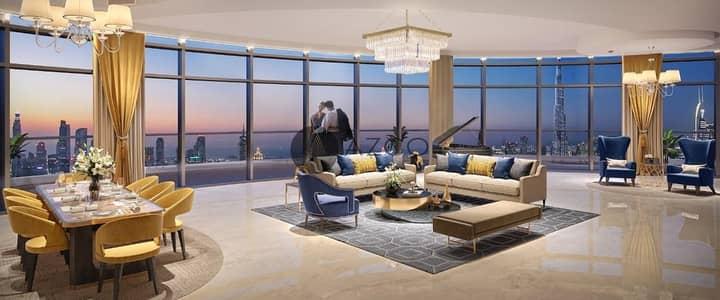 بنتهاوس 4 غرف نوم للبيع في وسط مدينة دبي، دبي - PENTHOUSE W/PRIVATE POOL I SPECTACULAR VIEWS I CAL