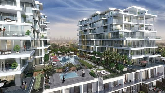 2 Bedroom Flat for Sale in DAMAC Hills (Akoya by DAMAC), Dubai - Brand New Ready to Move in | Full Golf Course View
