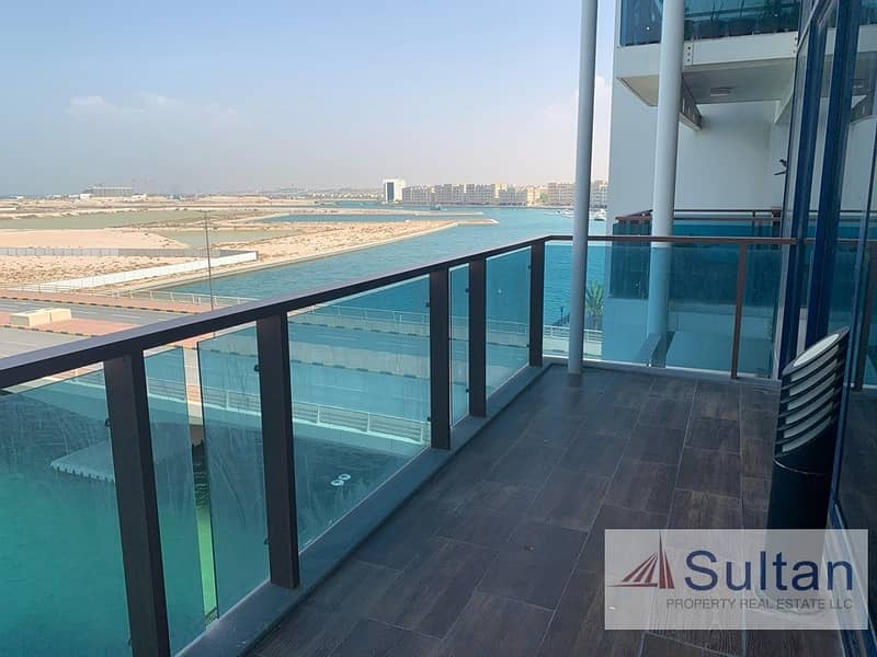 2 Breath Taking Lagoon Views from 1 Bedroom  Apartment in Mina Al Arab
