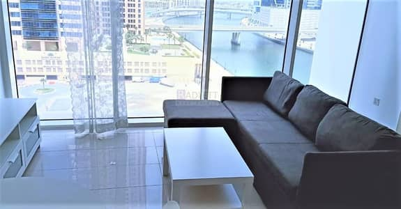 1 Bedroom Apartment for Sale in Business Bay, Dubai - Fully Furnished Soon to be Vacant| Lake View -Great Investment