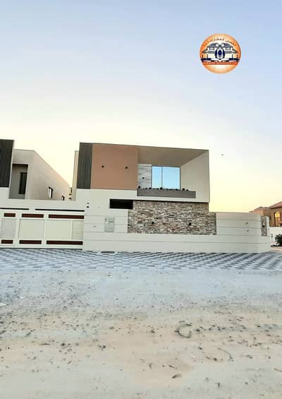 5 Bedroom Villa for Sale in Al Mowaihat, Ajman - Owns a villa with the latest, distinctive modern design, free ownership for all nationalities in the most prestigious areas of Ajman and close to all services with the possibility of bank financing