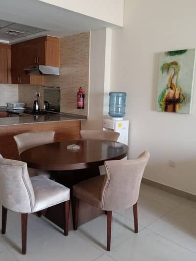 1 Bedroom Apartment for Rent in Jebel Ali, Dubai - Fully Furnished / Super clear apartment with double balcony / available for rent