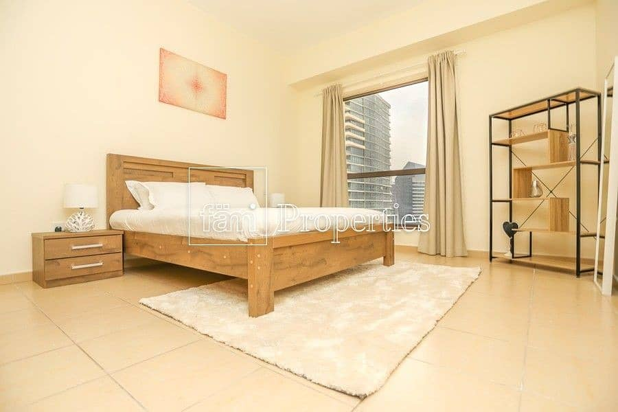 15 Beautifully furnished 2 BR marina view/ high floor