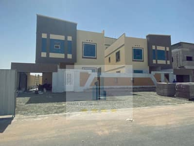 5 Bedroom Villa for Sale in Al Zahia, Ajman - Villa for sale in Ajman _ alhalio area of ​​3200 feet building personal price snapshot to communicate Mohammed 0586501336
