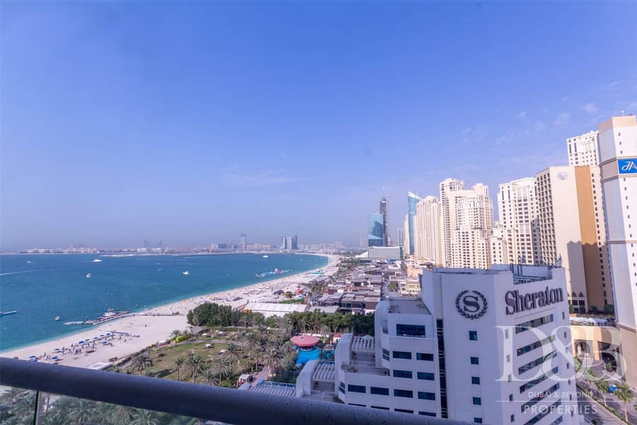 2 Full Sea View | High Floor | Unfurnished