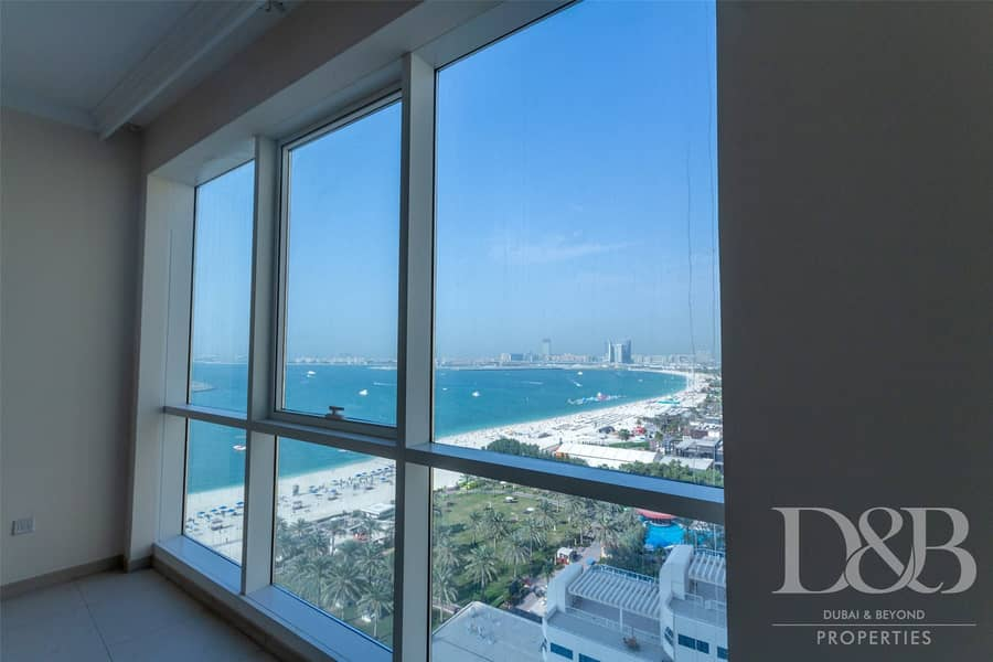 Full Sea View | High Floor | Unfurnished