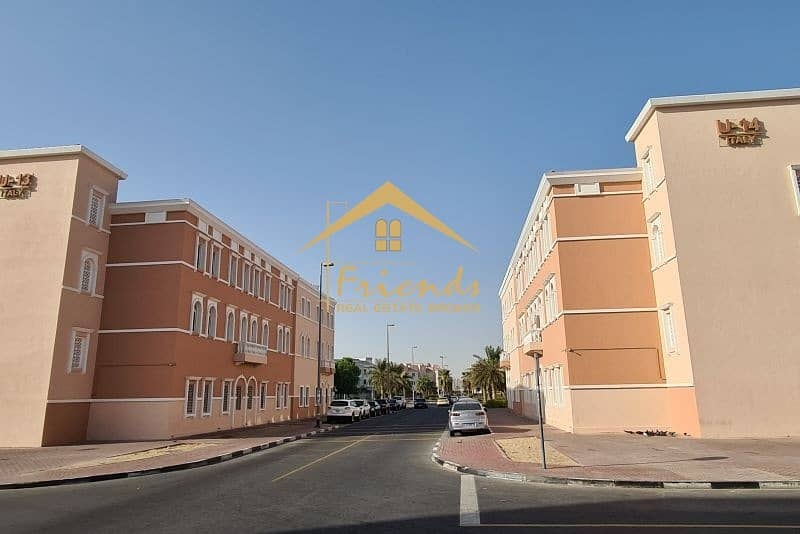 2 PERFECTLY PRICE FOR STUDIO IN ITALY CLUSTER RENT aed16000/-YEARLY