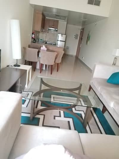 2 Bedroom Flat for Rent in Jebel Ali, Dubai - Available Fully furnished apartments with balcony