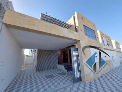 فیلا 5 غرف نوم للبيع في الياسمين، عجمان - للبيع فيلا جديده اول ساكن قريبه جدا من شارع الشيخ محمد بن زايد بتصميم ممتاز وسعر رائع .