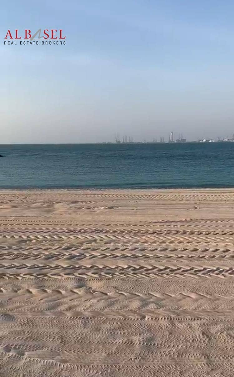 2 Beach Front Plot in Jumeirah Bay Island for Sale!