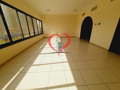 4 Bedroom Flat for Rent in Al Wahdah, Abu Dhabi - Brilliant Four Bedrooms Hall Apartment on Muroor Road near Alwahda Mall.