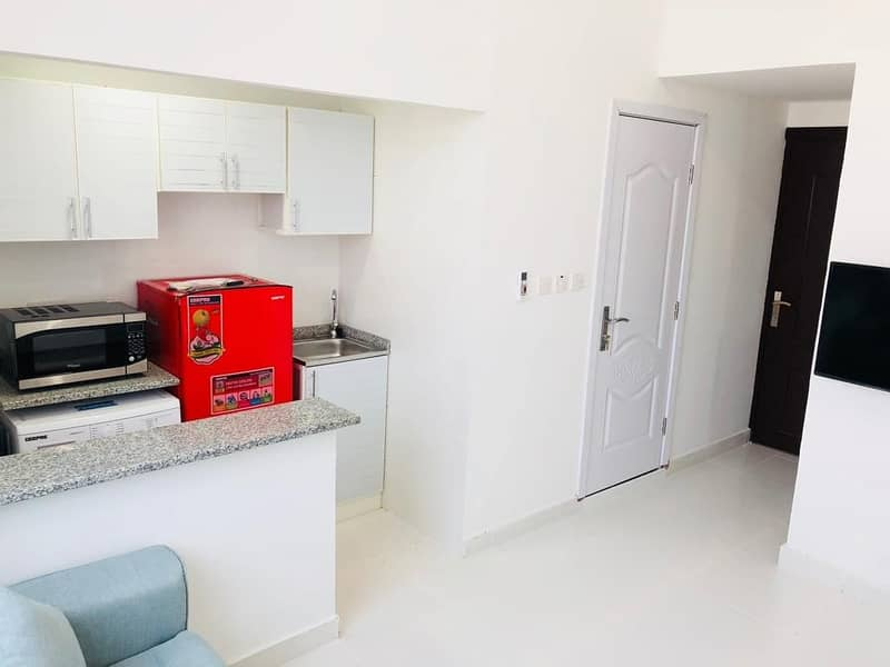 Hot Offer | Brand-New fully furnished Studio | No Cheques Required