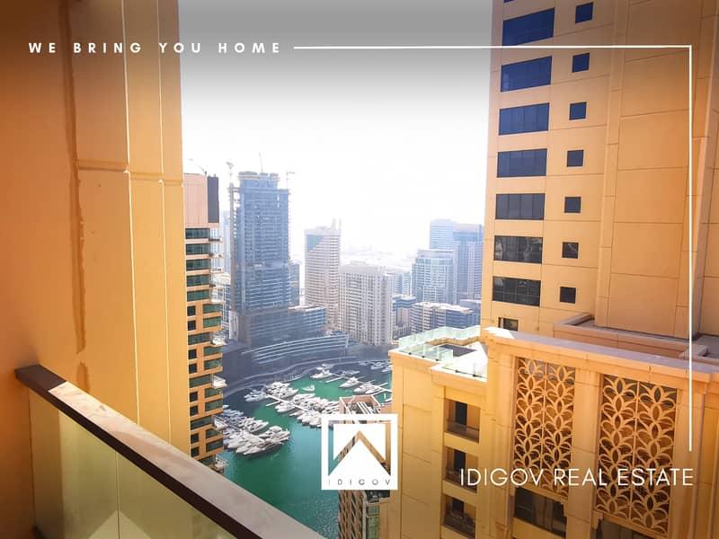 Best Layout | Very Bright | Full Marina View