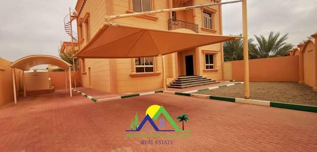 4 Bedroom Villa for Rent in Zakher, Al Ain - Independent Duplex Villa 10 min to Tawam Hospital