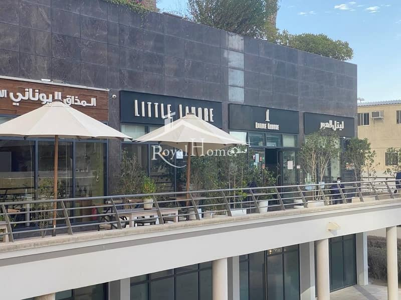 2 Shop for sale with large roof terrace