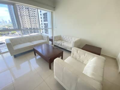2 Bedroom Flat for Rent in Jumeirah Lake Towers (JLT), Dubai - Marina View Furnished | Apartment with one parking