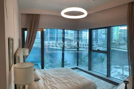 2 Bedroom Apartment for Sale in Jumeirah Lake Towers (JLT), Dubai - Fully Furnished | 2-Bed | Full Lake