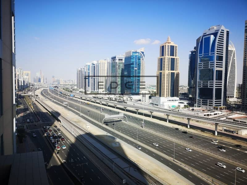 2 Furnished | SZR View | Metro + Tram at Doorstep | Upgraded Utilities