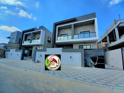 5 Bedroom Villa for Sale in Al Yasmeen, Ajman - Villa for sale directly from the owner, personal finishing, central air conditioning, great location, on a street