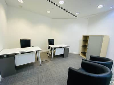 Office for Rent in Bur Dubai, Dubai - Independent fully furnished serviced office_Linked with burjuman Mall and metro