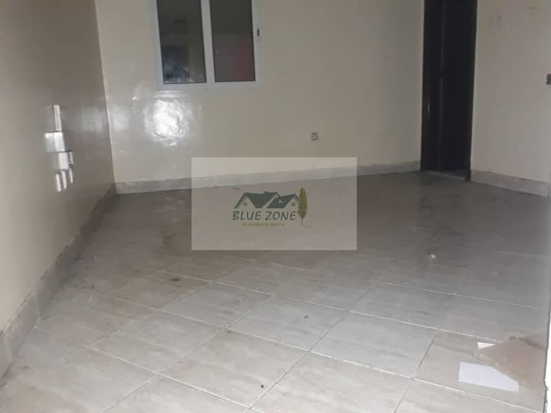 45 days free Studio split ac and gas connection in 6 payments diposit undated cheque butina sharjah