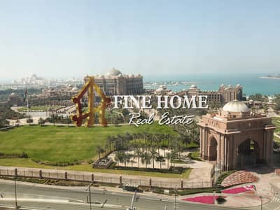2 Bedroom Flat for Rent in Corniche Road, Abu Dhabi - Iconic 2BR with No Commission + Sea View