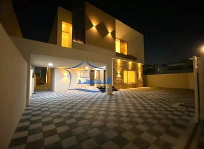 5 Bedroom Villa for Sale in Al Mowaihat, Ajman - Modern villa for sale Luxurious European design And finishes with high presence The most prestigious sites and close to all services in Ajman And all banking facilities