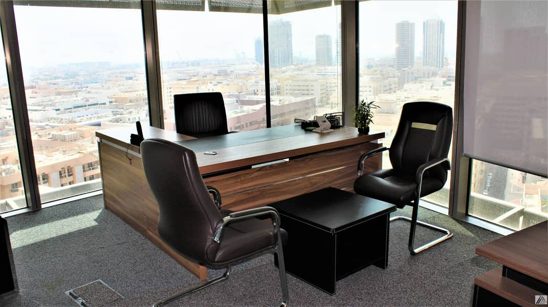 Remarkable Location| Fully Fitted Elegant | Bright | Efficient Office | with breathing  view