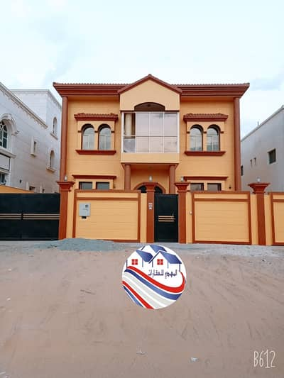 4 Bedroom Villa for Sale in Al Yasmeen, Ajman - For sale a new villa, the first inhabitant of Jasmine, with electricity and water, ready to live directly, owning all nationalities