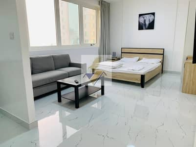 Studio for Rent in Hamdan Street, Abu Dhabi - Fully Furnished SEA VIEW Studio Near Corniche & Hamdan Street Including Wifi