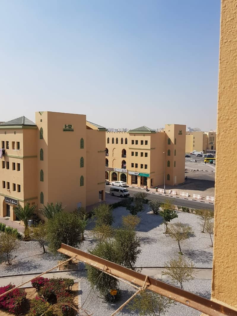 Int. City | Morocco Cluster Building J | Well Maintain Studio without balcony | For Sale in a Best Offer Price in the Market