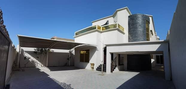 5 Bedroom Villa for Rent in Al Rawda, Ajman - |Brand New 5-Bedroom Villa for rent | Super deluxe finishing | 5 Mater rooms | 2 kitchens +2 hall | Prime location in AL Rawda  Ajman