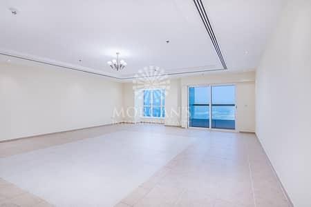 شقة 4 غرف نوم للايجار في دبي مارينا، دبي - Full Sea View High Floor 4 Bedroom