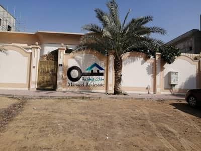 4 Bedroom Villa for Rent in Al Mowaihat, Ajman - Villa for rent in Ajman, Al Mowaihat 3, The villa is ground floor, excellent location