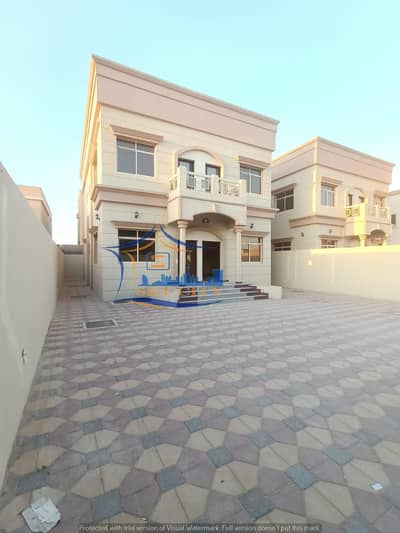 5 Bedroom Villa for Sale in Al Rawda, Ajman - Modern villa for sale Luxurious European design And finishes with high presence The most prestigious sites and close to all services in Ajman And all banking facilities