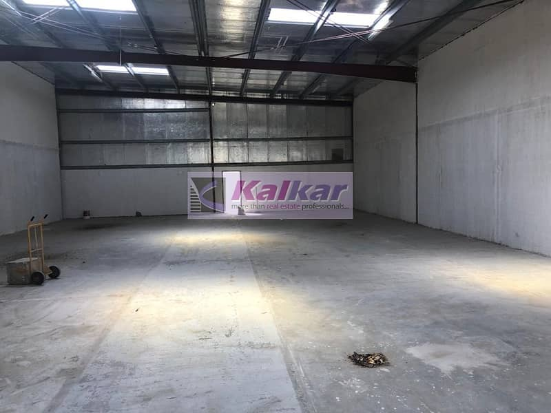 !! 3500 COMMERCIAL WAREHOUSE IN ALQUOZ 3 AED; 120