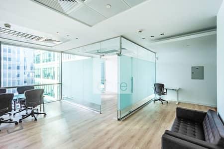 مکتب  للايجار في مركز دبي المالي العالمي، دبي - Fitted and Furnished Office | Low Floor