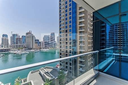 2 Bedroom Apartment for Rent in Dubai Marina, Dubai - Unfurnished | Best 2 BR Layout in Marina Promenade