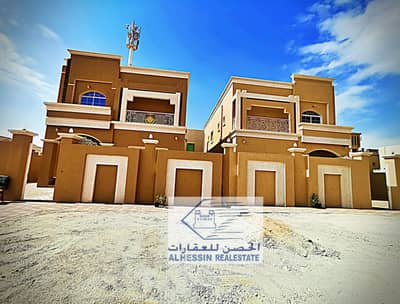 5 Bedroom Villa for Sale in Al Mowaihat, Ajman - For sale luxury villa near asphalt street (neighbor) freehold. `