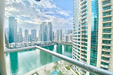 1 Bedroom Flat for Rent in Dubai Marina, Dubai - 1 Bedroom | Fully Furnished | March Move