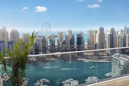 2 Bedroom Apartment for Sale in Dubai Marina, Dubai - Large Terrace Unit | Full Marina View l Low Floor