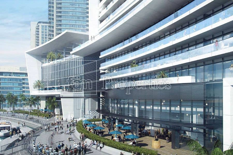 9 Large Terrace Unit | Full Marina View l Low Floor