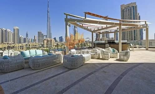 2 Bedroom Flat for Rent in Downtown Dubai, Dubai - 2BR Furnished Apartment With Stunning Views Of Burj Khalifa