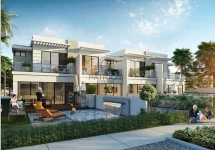 4 Bedroom Townhouse for Sale in DAMAC Hills (Akoya by DAMAC), Dubai - LIMITED-EDITION VILLAS WITH THE BACKYARD OF A MANSION