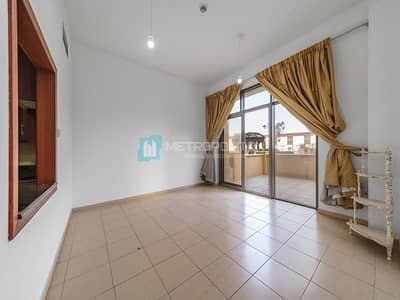 Rare 1 BR with Storage| Huge Terrace| Unfurnished