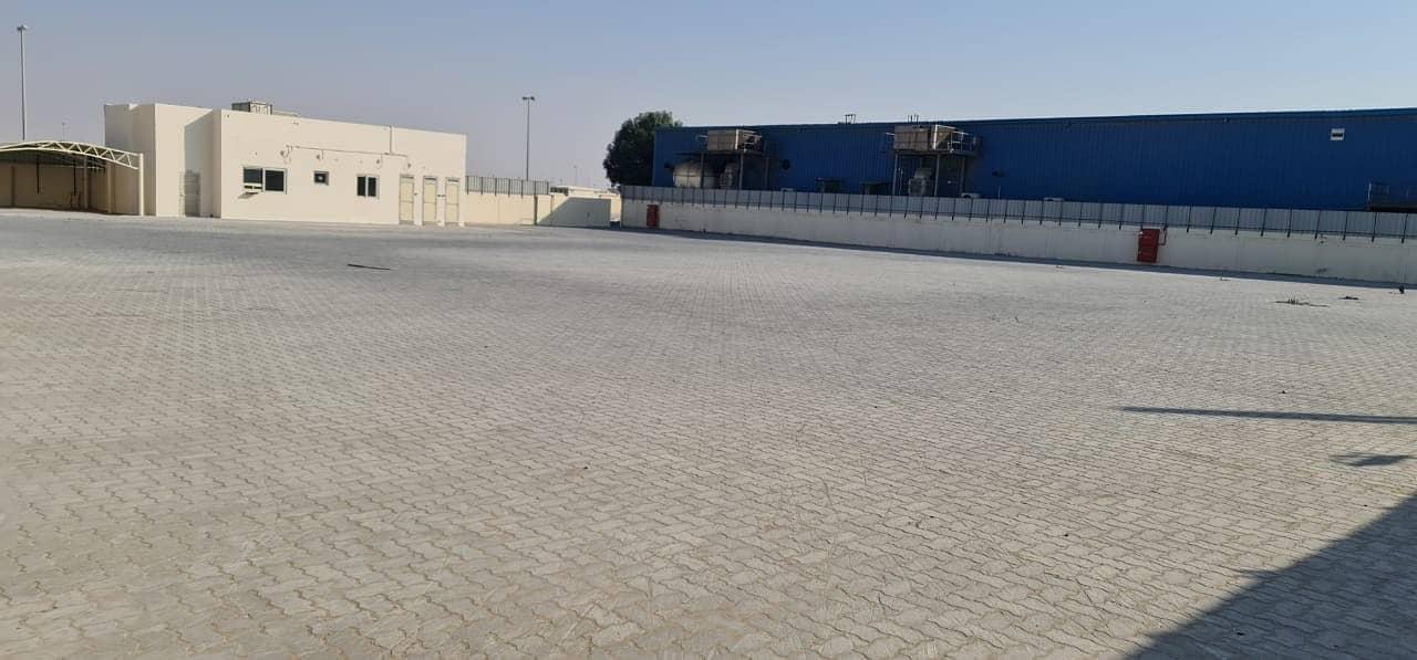 35000 sq ft Fully Interlocked Open Land in Al Sajaa Industrial area, Sharjah