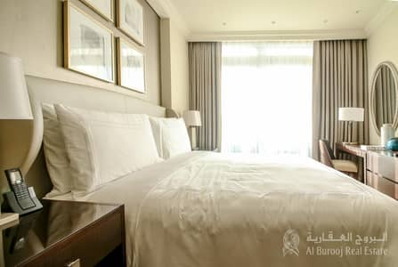1 Bedroom Flat for Sale in Downtown Dubai, Dubai - High Floor| Fully Furnished|1 Plus Study  fountain view