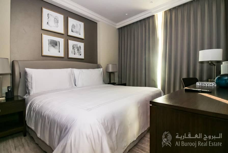2 High Floor| Fully Furnished|1 Plus Study  fountain view