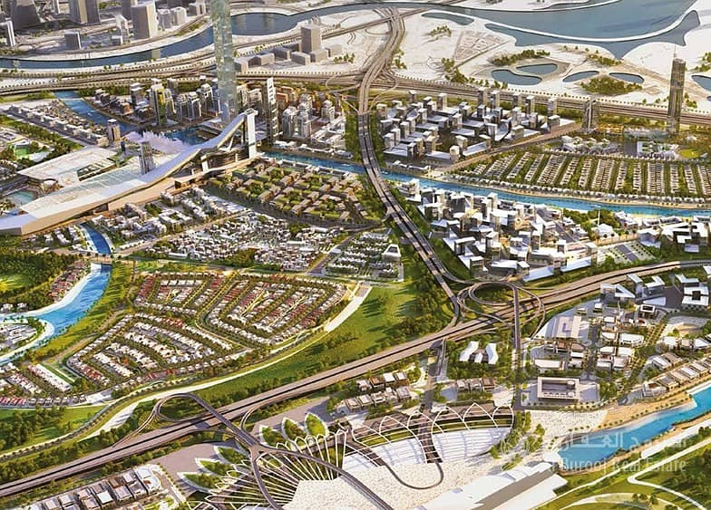 22 Grab It|Full Canal View Retail in Meydan|No comission